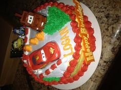 Cars birthday cake :)