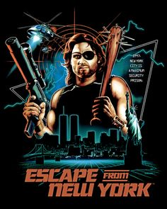 Escape From New York Poster.46 Best Escape From New York Images Movie Posters Film Posters