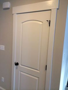 Craftsman-Trim More & Upgrade flat panel door with trim. Drastic difference for not a lot ...
