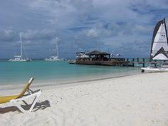"""Aruba - Great little cafe and bar called """"The Bungalow"""""""