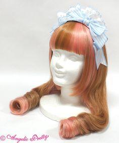Dreamy Parfait Cafe Headbow - Sax