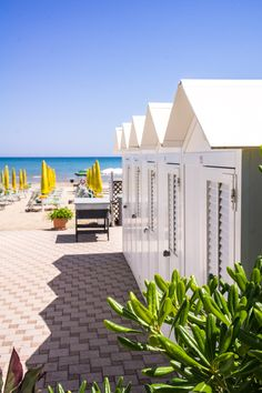 Beach Houses in Senigallia, Marche Region, Italy