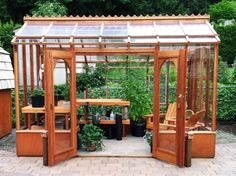 Nantucket greenhouse kit by Sturdi-built as a SHE shed