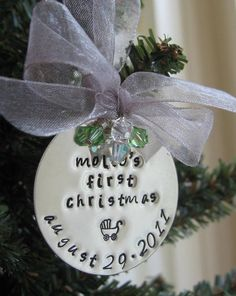 """1st Christmas"" Ornament"