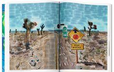 David Hockney ~ Pearblossom Highway april (tweede versie) ~ 1986 ~ Fotocollage ~ 198 x 282 cm. David Hockney Artwork, Craft Images, Getty Museum, Living At Home, 80th Birthday, Photo Projects, Art Design, Art World, Art Lessons