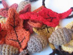 CROCHET N PLAY DESIGNS: Free Crochet Pattern: Autumn Garland