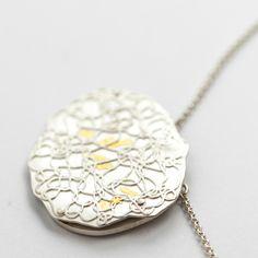 Keum-boo, Silber Kette, Gold, Schmidt, Switzerland, Pendant Necklace, Jewelry, Geneva, Chain, Jewlery, Bijoux, Schmuck