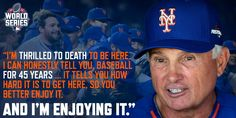 Terry enjoying every moment. #Mets #WorldSeries #LGM