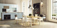 Meble do salonu, jadalni, krzesła tapicerowane, stoły dębowe - Absynth
