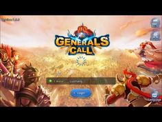 Generals Call android game first look gameplay español