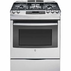 JGS750SEFSS 5.6 cu. ft. Slide-In Gas Range - Stainless Steel - Sears