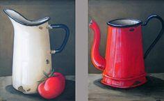 Katie Grobler - Various Ceramics - Still Lifes - 200 x 300 each