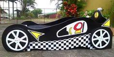cama carro de carreras
