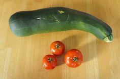 fresh homegrown zucchini