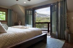 Lake Lure Master Suite by Allard and Roberts Interior Design, Asheville, NC