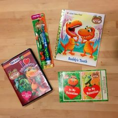 #AD Dinosaur Train Prize Pack Giveaway Including DVD, Toothbrushes and book