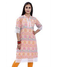 Loved it: Meenakshi Designers Multicolor Printed Medium Cotton Kurti, http://www.snapdeal.com/product/meenakshi-designers-multicolor-printed-medium/1422204346
