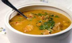 Flavors of Brazil - Fish Soup, Brazilian Beach Style (Caldinho de Peixe) Soup Recipes, Cooking Recipes, Recipies, Fish Soup, Portuguese Recipes, Portuguese Food, Dessert Drinks, Fish And Seafood, International Recipes