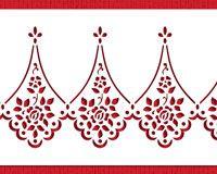 Alencon Lace Cake Stencil Set | Designer Stencils