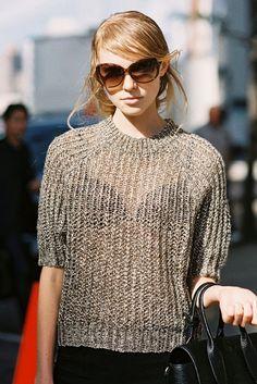 New York Fashion Week SS 2014....Nastya