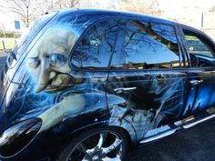 Harry Potter PT Cruiser - cute. Chrysler Usa, Chrysler Pt Cruiser, Pt Cruiser Accessories, Harry Potter Car, Cruiser Boards, Vehicle Wraps, Car Wrap, My Ride, Cruises
