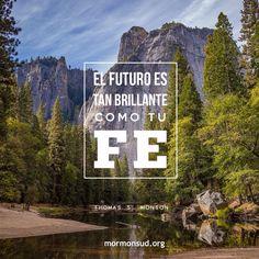 El futuro Es tan brillante como tu fe