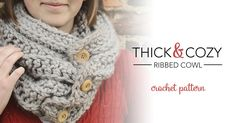 This free crochet pattern is part of a series of 5 beginner-friendly scarves & cowls that can be made for $10 or less. All you need is a few skeins of Lion Brand Hometown USA ($2.99/skein at Walmart) and aP (11.5mm)hook! This particular pattern includes instructions for adding decorative toggl