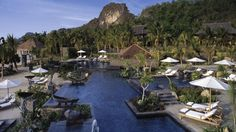 Pool at Four Seasons Langkawi, Malaysia... Beautiful.