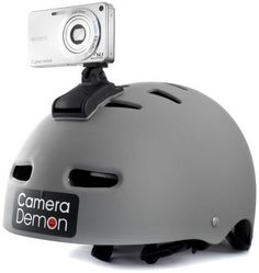 Camera Demon - Make An Action Camera By Mounting Any Digital Camera On Your Helmet http://coolpile.com/gadgets-magazine/camera-demon-make-an-action-camera-by-mounting-any-digital-camera-on-your-helmet/ via CoolPile.com - $33.95 -  Action Camera, Be Prepared, Cool, Outdoors, Sports, Trip Gear