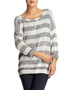 Shop Gap for Casual Women's, Men's, Maternity, Baby & Kids Clothes Baggy Sweaters, Shirts For Leggings, Casual Outfits, Fashion Outfits, Baby Kids Clothes, I Dress, At Least, Tunic Tops, Pullover