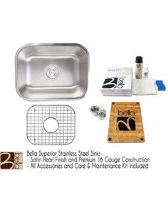 http://www.cbath.com/32-inch-stainless-steel-single-bowl-kitchen-sink-premium-16-gauge-bella-series-w-free-accessories.html