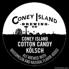 mybeerbuzz.com - Bringing Good Beers & Good People Together...: Coney Island Brewing - Cotton Candy Kolsch