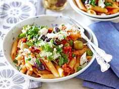This flavour-packed pasta dish is quick and easy to throw together ...