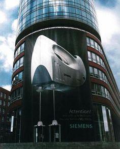 Siemens : utilisation des portes tourniquets dans cette action de street gigantesque!