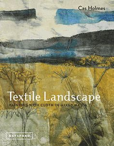 Textile Landscapes demonstrates how to develop your approach to textile art with a focus on using found objects and paint and stitch on cloth and paper.  Cas explains how to exploit the contrast between the hands-on textural quality of working with fabrics and threads and the spontaneity and movement of brush marks to lend …