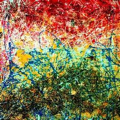 Jackson Pollock: The paint flowed from his brain to his heart to his hand to his canvas.....