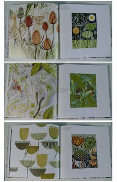 littletree designs: beautiful books...Angie Lewin: Plants and Places