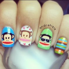 Happy Pinsday! Check out these #Julius nails from Andre H!
