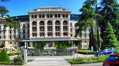 Palace Hotel in Portoroz / Port of Roses /, Slovenia, Nikon Coolpix B700, 6.3mm, 1/1000s, 1/800s, ISO100, f/3.8, panorama segment 2, HDR photography, 201805201051