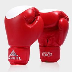 Shumo Children Boxing Gloves Karate Ufc Guantes Boxeo Boxe Boxing Equipment Flame Boxing Set/—Red