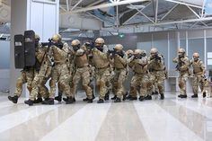 Мобільний прикордонний підрозділ #Дозор тренувався у #Бориспіль 04/11/16