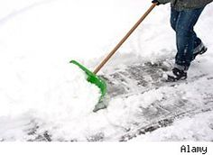 Liquid Snow Shovel- prevents ice from forming on sidewalks/drive ways and shoveling doesn't take it off like rock salt.