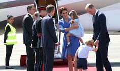 Berliin, Saksamaa kuningapaari, hertsog ja hertsoginna Cambridge ja nende lapsed, George ja Charlotte külastada Berliini ajal kolmepäevasele visiidile Saksamaale