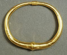 Byzantine | 5th to 7th century | Gold bracelet | Place of Origin: Constantinople (present-day Istanbul, Turkey) Place of Discovery: Greece