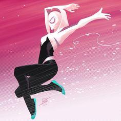 Spider-Gwen by Ron Salas