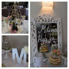 Pretty wedding high tea styling by Tickled Pink Celebrations