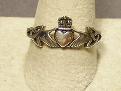 Claddagh ring - I like that this has both the hands and the trinity knots!