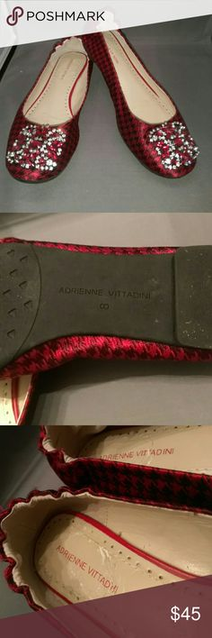 Adrienne Vittadini flats Adrienne Vittadini Jewel flats a little peeling inside soul but not due to wear never been worn Adrienne Vittadini Shoes Flats & Loafers
