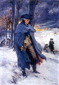 """""""If all else fails, I will retreat up the valley of Virginia, plant my flag on the Blue Ridge, rally around the Scotch-Irish of that region and make my last stand for liberty amongst a people who will never submit to British tyranny whilst there is a man left to draw a trigger.""""  - George Washington at Valley Forge"""