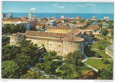 Pesaro - K1942 Pesaro - Panorama e Rocca Costanza - Castello Chateau castle schloss castillo / non viaggiata